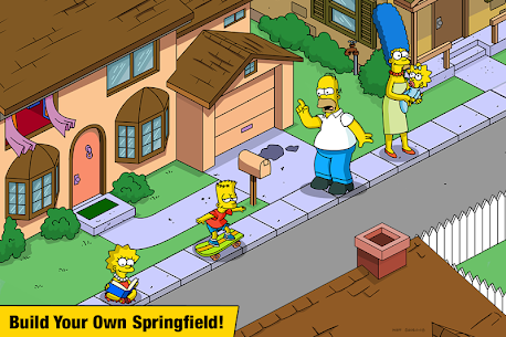 The Simpsons:  Tapped Out Mod Apk (Free Shopping) 1