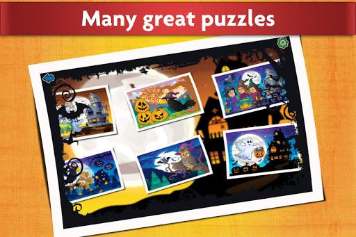 Jigsaw Puzzles Halloween Game for Kids  screenshots 1