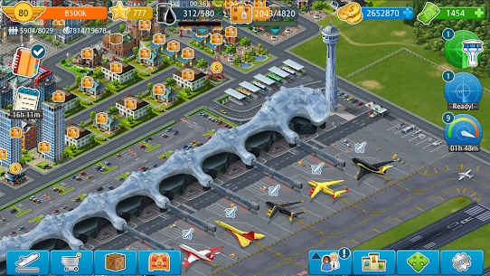 Download Airport City Mod Apk 8.8.16 [Unlimited Money/Coins/Energy] 5