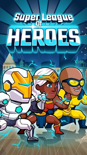 Super League of Heroes - Comic Book Champions screenshots 1