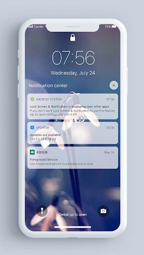 Lock Screen & Notifications iOS 14 2.2.3 Screenshots 5