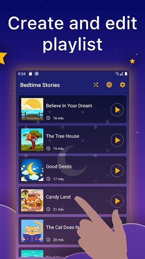 Bedtime Audio Stories Kids. Calm Sleep Story Book 1.5.2 Screenshots 9