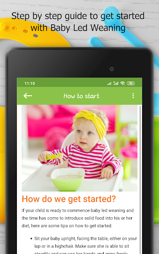 Baby Led Weaning - Guide & Recipes 2.6 Screenshots 24