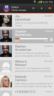 Visual Voicemail by MetroPCS Screenshot
