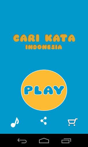 Game Cari Kata Indonesia  screenshots 1