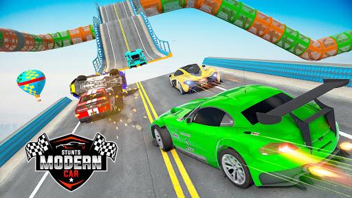 Mega Ramp Car Racing Stunts 3D : Stunt Car Games android2mod screenshots 11
