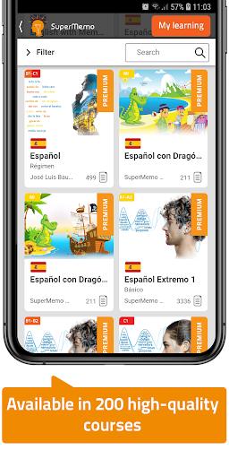 SuperMemo - Effective Language Learning Courses  screenshots 2