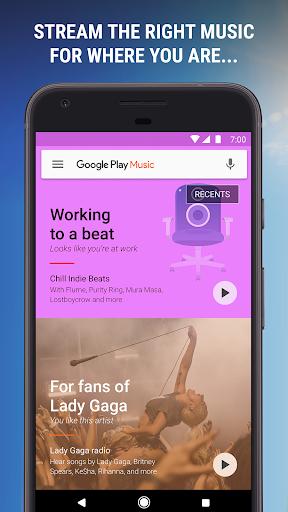 Google Play Music 8.28.8916-1.V Screenshots 1