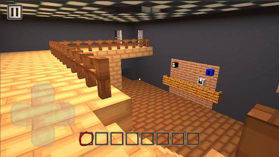 blocky Granny mod chapter one 2.1.7 Screenshots 1