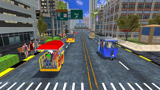 Offroad Tuk Tuk Rickshaw Driving: Tuk Tuk Games 21 screenshots 8