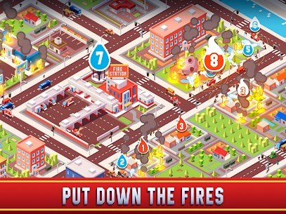 Idle Firefighter Empire Tycoon Mod Apk- Management Game (Unlimited Money) 10