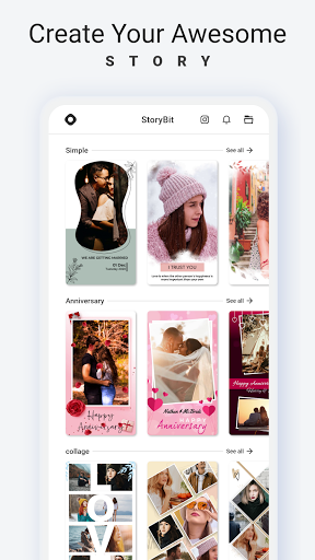 Story Bit   Story Art Maker android2mod screenshots 1