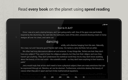 Reedy. Intelligent reader Screenshot