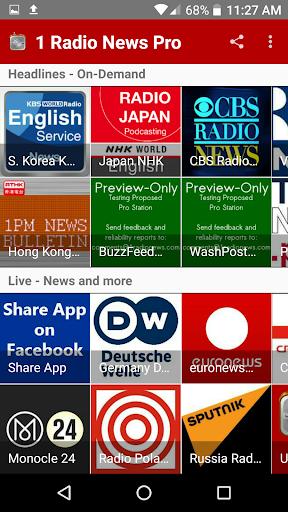 1 Radio News Pro For PC Windows (7, 8, 10, 10X) & Mac Computer Image Number- 11