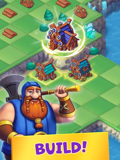 Mergest Kingdom: Merge Puzzle apkpoly screenshots 8