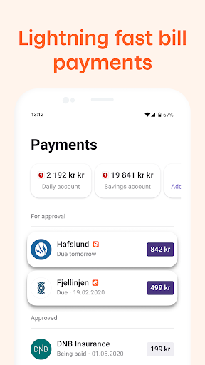 Vipps android2mod screenshots 7