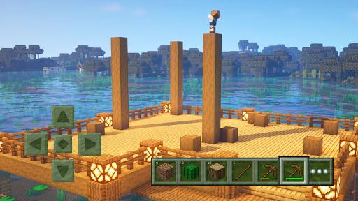 Craft World - Master Building Block Game 3D apkdebit screenshots 3