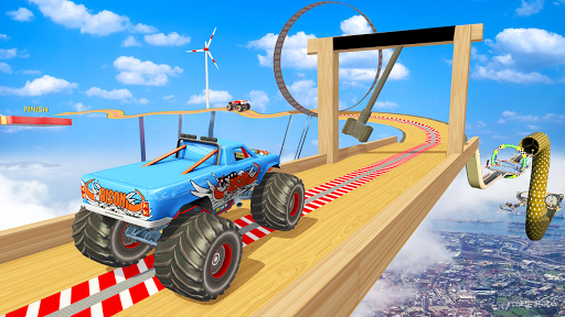 Impossible Tracks Monster Truck Stunt Racing  screenshots 2