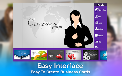 Business Card & Invitation Maker android2mod screenshots 4