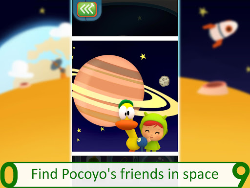 Pocoyo 1, 2, 3 Space Adventure: Discover the Stars  screenshots 13