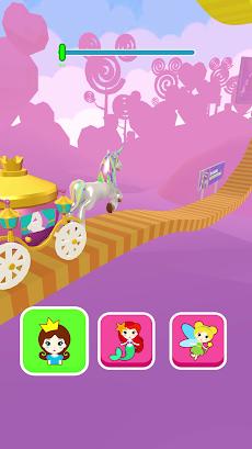 Shift Princess:エキサイティングなフェアリープリンセスレースゲーム。ミニゲーム パズルのおすすめ画像1