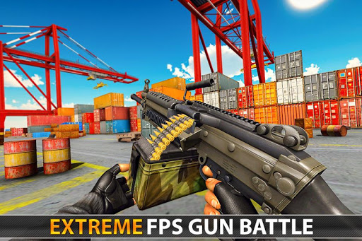 Police Counter Terrorist Shooting - FPS Strike War modiapk screenshots 1