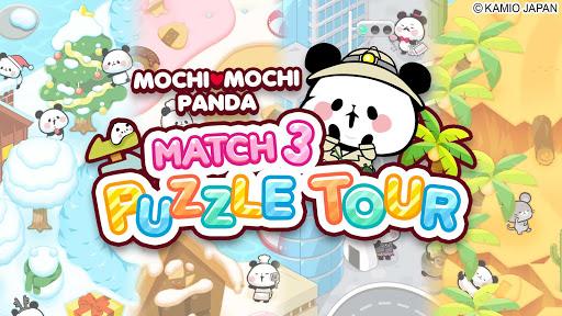 Match 3 Puzzle Tours : MOCHI MOCHI PANDA  screenshots 6
