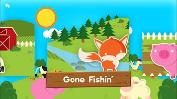 Farm Story Maker Activity Toddler Kids Game Free
