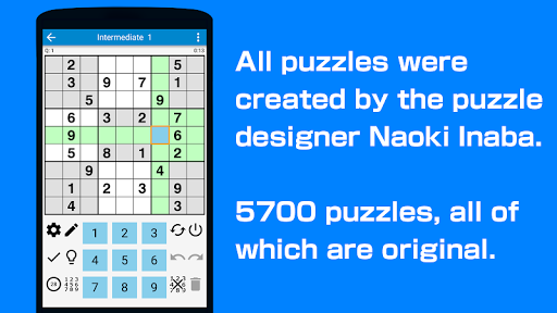 Sudoku - 5700 puzzles Free Latest screenshots 1
