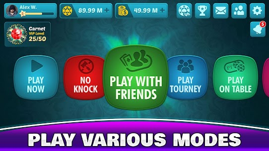 Tonk Multiplayer – Online Gin Rummy Free Variation 8
