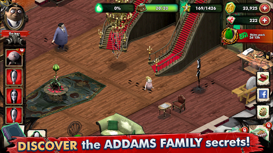Addams Family Mystery Mansion The Horror House MOD (Gems/Coins) 3