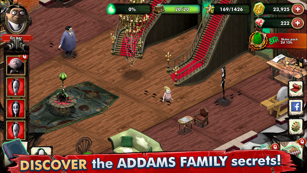 Addams Family: Mystery Mansion - The Horror House! poster 2
