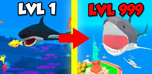 Idle Shark World: Hungry Monster Evolution Game 2.8 screenshots 9