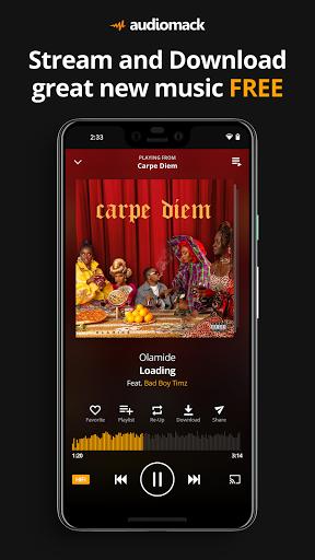 Audiomack: Download New Music Offline Free screen 0