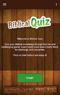 Biblical Quiz 2.01.300 screenshots 1