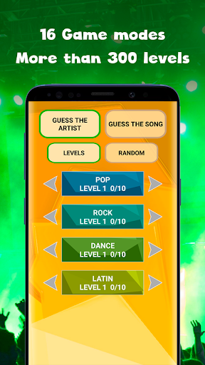 Guess the song - music quiz game Guess the song 0.5 screenshots 1