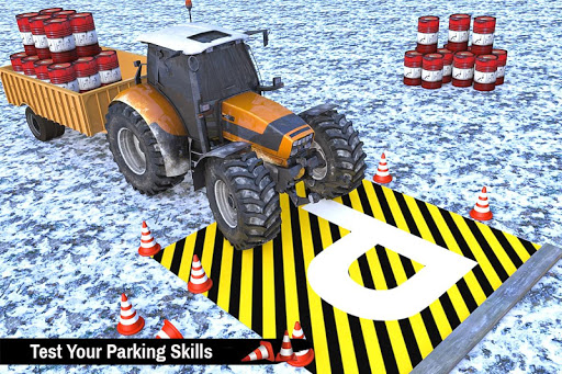 Tractor Trolley Parking Drive - Drive Parking Game 2.6 Screenshots 5
