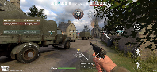 Ghosts of War: WW2 Shooting game Army D-Day 0.2.9 screenshots 17