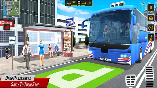 Super Coach Driving 2021 : Bus Free Games 2021 screenshots 10