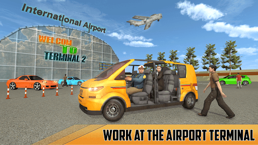 Modern Taxi Driving Game: City Airport Taxi Games  screenshots 4