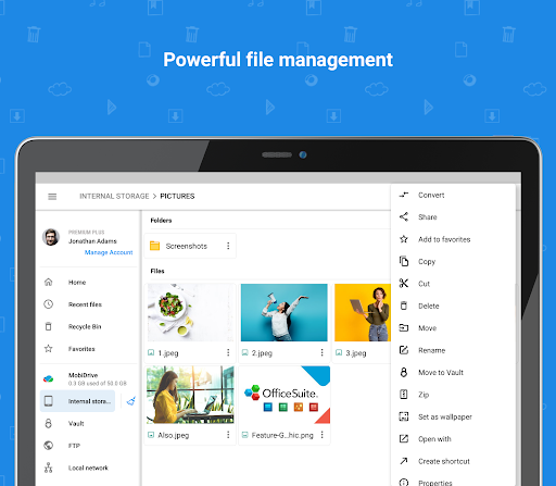 File Commander - File Manager & Free Cloud  Screenshots 10