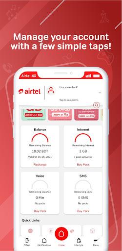 My Airtel - Bangladesh android2mod screenshots 2