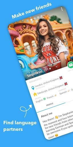 InterPals - Friends and Language Exchange  Screenshots 1