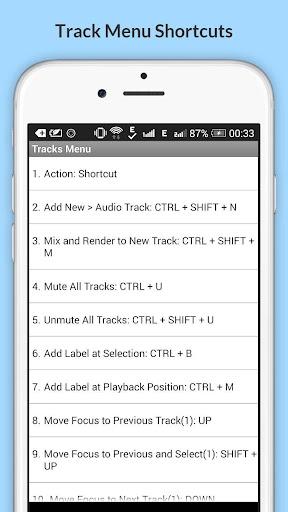 Free Audacity Shortcuts 6.6.6.2 Screenshots 22