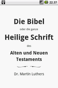 Die Bibel, Luther (Holy Bible) 1.3