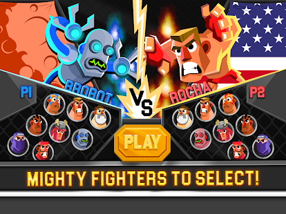 UFB 3: Ultra Fighting Bros - 2 Player Fight Game Screenshot