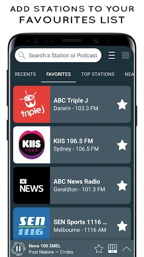 radio australia: online radio & fm radio app screenshot 3