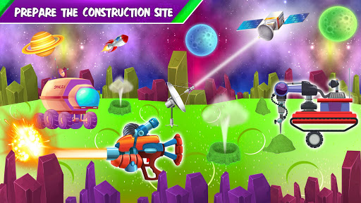Build a Space City : Construction Game 1.3 screenshots 2