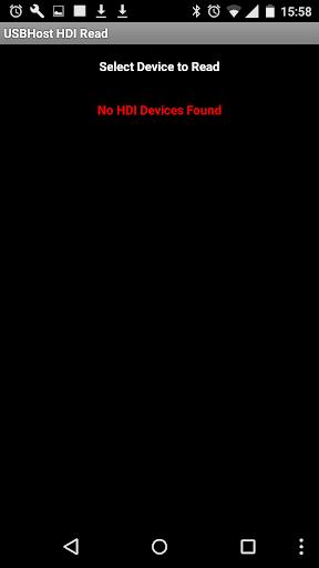 Foto do USB Host HDI Read Terminal