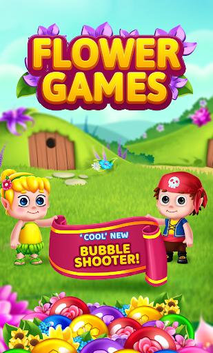 Flower Games - Bubble Shooter 4.2 screenshots 1